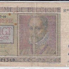 Billetes extranjeros: 0298 BILLETE BELGICA USADO. Lote 81484440