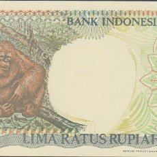 Billetes extranjeros - BILLETES INDONESIA - 500 rupias 1992/93 - serie BLB020474 - pick-128b (SC) - 120936598