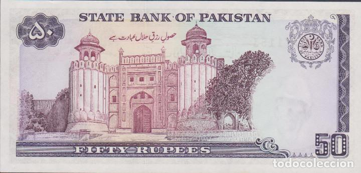Billetes extranjeros: BILLETES PAKISTAN - 50 rupees (1986) - serie CAX1771134 - pick-40 (SC) - Foto 2 - 182093405