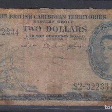 Billetes extranjeros: 0124 BILLETE BARBADOS USADO . Lote 82878200