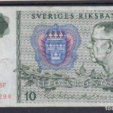 Billetes extranjeros: 0041 BILLETE SUECIA USADO. Lote 104937092