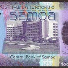 Billetes extranjeros: SAMOA. BONITO 50 TALA S/F 2008. PICK 41. S/C. VER FIRMAS. HIBRIDO. REPOSICION - SERIE ZZ.. Lote 85417431