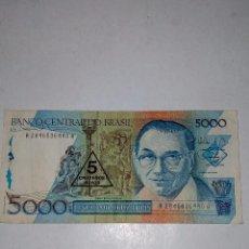 Billetes extranjeros: 5000 CRUZADOS,BRASIL. Lote 85447592
