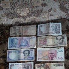 Billetes extranjeros: LOTE BILLETES EXTRANJERO Y UN PAR DE ESPAÑOLES.. Lote 87075980