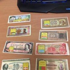 Billetes extranjeros: COLECCION BILLETES DEL MUNDO BIMBO . SERIE CULTURAL 235. Lote 86224804