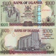 Banconote internazionali: UGANDA 1.000 SHILINGI 2009 PICK 43.C SIN CIRCULAR. Lote 88853036