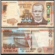 Billetes extranjeros: MALAWI - 500 KWACHA - 1ST. JANUARY 2012 - S/C. Lote 169747977