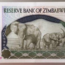 Billetes extranjeros: ZIMBABWE. 1000 DÓLARES. Lote 89409054