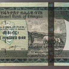 Billetes extranjeros: ETIOPIA. 100 BIRR. Lote 89821364