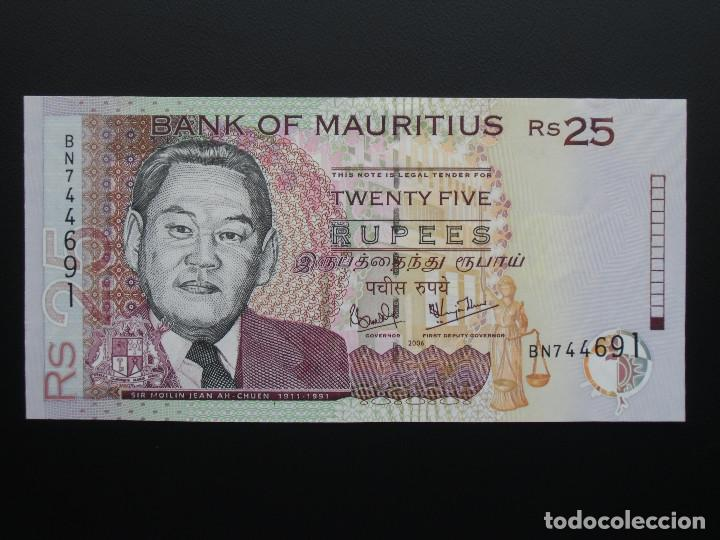 Bank Of Mauritius Rs 25 - story me