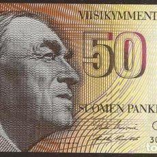 Billetes extranjeros: FINLANDIA. 50 MARKKAA 1986. SIN LITT. PICK 114. VARIANTE DE FIRMAS.. Lote 91478332