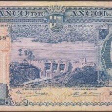 Billetes extranjeros: BILLETES - ANGOLA 1000 ESCUDOS 1970 - SERIE 25II - PICK-96 (MBC). Lote 91859060
