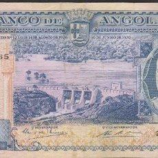 Billetes extranjeros: BILLETES - ANGOLA 1000 ESCUDOS 1970 - SERIE 22PP - PICK-96 (MBC). Lote 91866770