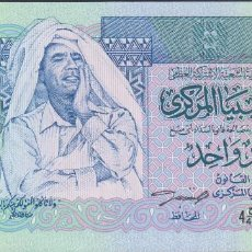 Billetes extranjeros: BILLETES - LIBYA 1 DINAR (1993) - SERIE 4C/40-938613 - PICK-59A (SC). Lote 143349432