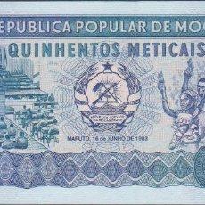 Billetes extranjeros: BILLETES MOZAMBIQUE - 500 METICAIS 1983 - SERIE AC 0010754 - PICK-131A (SC). Lote 147107857