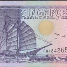 Billetes extranjeros: BILLETES SINGAPUR - 2 DOLLARS 1992 - SERIE FW 484281 - PICK-28 (SC). Lote 188778437