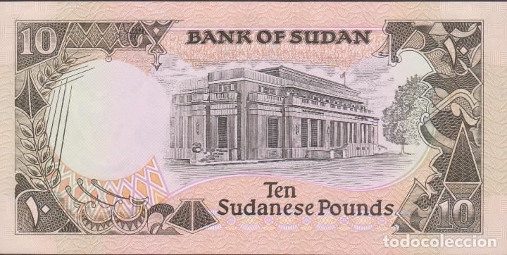 Billetes extranjeros: BILLETES SUDAN - 10 libras sudanesas 1991 -serie E/386-182378 - pick-46 (SC-) - Foto 2 - 190901592