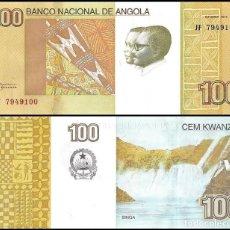 Billetes extranjeros: ANGOLA - 100 KWANZAS - OUTUBRO 2012 - S/C. Lote 95423119