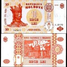 Billetes extranjeros: MOLDAVIA - 10 LEI - AÑO 2009 - S/C. Lote 95433307