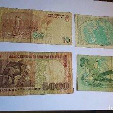 Billetes extranjeros: CUATRO BILLETES EXTRANJEROS . Lote 95876895