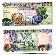 Billetes extranjeros: GHANA 1000 CEDIS 2002 P-32H UNC. Lote 96017051