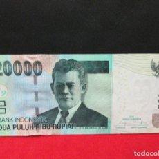 Billetes extranjeros: 20000 RUPIAH 1995 INDONESIA. Lote 96443679