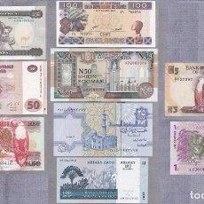 Billetes extranjeros: LOTE BILLETES S/C ZAMBIA, CONGO, ERITREA, GUINEA, SOMALIA, EGIPTO, MADAGASCAR. Lote 98412452