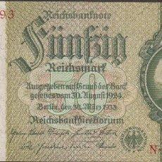 Billetes extranjeros: BILLETES - GERMANY-ALEMANIA - 50 REICHSMARK 1948 - SERIE N - R-337 (SC). Lote 98116623