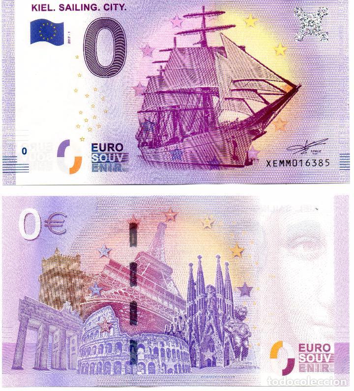 billete 0 euros emitido ciudad kiel alemania comprar billetes extranjeros antiguos en. Black Bedroom Furniture Sets. Home Design Ideas