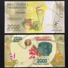 Billetes extranjeros: MADAGASCAR - 2000 ARIARY - SIN FECHA (2017) - S/C. Lote 98408923