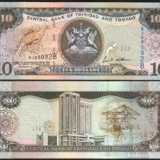 Billetes extranjeros: TRINIDAD AND TOBAGO - 10 DOLLARS - AÑO 2006 - S/C. Lote 98410547