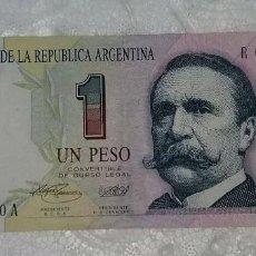 Billetes extranjeros: BILLETE UN 1 PESO ARGENTINO. Lote 98883875