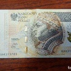 Billetes extranjeros: BILLETE DE 200 ZLOTYS POLACOS. Lote 100206379