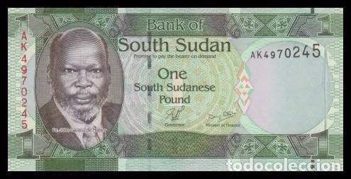 Sudan del sur 1 pound 2011  pick 5  sc - Sold through Direct