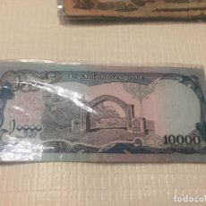 Billetes extranjeros: 6 BILLETES AFGANISTAN PERIODO TALIBAN 10000 1000 500 ... Lote 101786607
