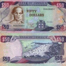 Billetes extranjeros: JAMAICA - 50 DOLLARS - (15.01.2010) - S/C. Lote 101930787