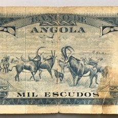 Billetes extranjeros: ANGOLA. 1000 ESCUDOS. Lote 102411215
