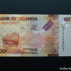 Billetes extranjeros: UGANDA 1000 SHILLINGS 2010 SC UNCIRCULATED.. Lote 102495467