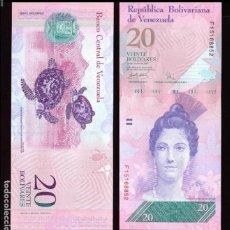 Billetes extranjeros: VENEZUELA - 20 BOLIVARES - 24 DE MAYO DE 2007 - S/C. Lote 126057938