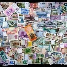 Billetes extranjeros: GRAN LOTE 125 BILLETES DEL MUNDO CALIDAD UNC TODOS DIFERENTES. Lote 109308404