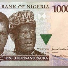 Billetes extranjeros: NIGERIA. 1000 NAIARA. 2013. Lote 103086035