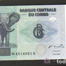Billetes extranjeros: CONGO REPUBLICA DEMOCRATICA - 100 FRANCOS 2000 SC P.92 UNC . Lote 103725263