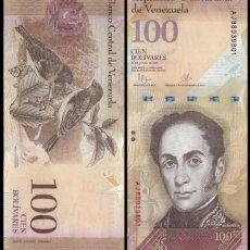 Billetes extranjeros: VENEZUELA - 100 BOLIVARES - 23 DE JUNIO DE 2015 - S/C. Lote 109106795