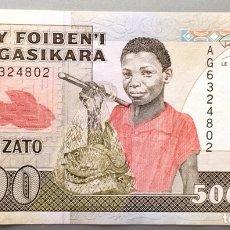 Billetes extranjeros: MADAGASCAR. 500 FRANCOS ARIARY. Lote 104415136