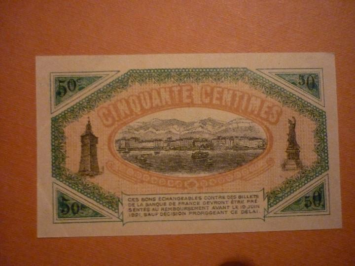 Francia 50 centimes de la chambre de commerce comprar billetes extranjeros antiguos en - Chambre du commerce blois ...