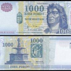 Billetes extranjeros: HUNGRIA 1000 FORINT 2003. PICK 189B. SC. Lote 105934987
