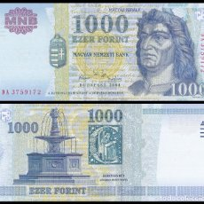 Billetes extranjeros: HUNGRIA 1000 FORINT 2004. PICK 189C. SC. Lote 105935463