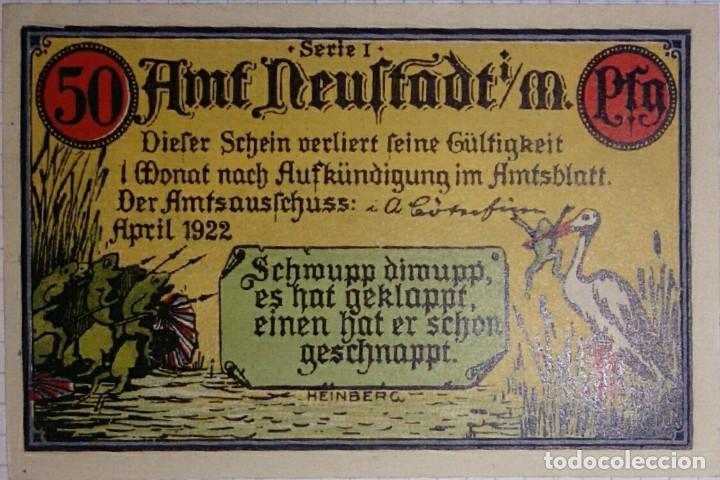 Billetes extranjeros: ALEMANIA NOTGELD/TOGO. 50 PFENNIG 1922. SC. - Foto 2 - 106091119