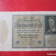 Billetes extranjeros - Alemania. Billete de 10000 marcos. 1922 - 107820931