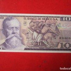 Billetes extranjeros: MEXICO. BILLETE DE 100 PESOS. 1982. Lote 108818183
